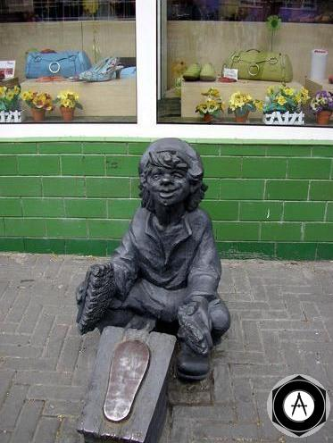 Челябинск-чистильщик обуви