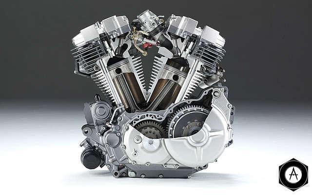 Двигатель для мотоцикла