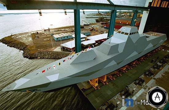 Шведское ВМС получили от судостроительного предприятия  Kockums первые