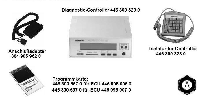 Устройства WABCO для диагностики систем ABS, EBS, ECAS