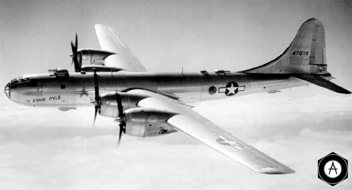 американский бомбардировщик b29-6