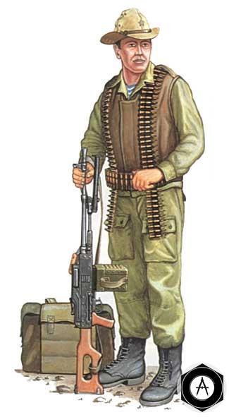 пулемётчик ПКМ Афганистан ВДВ