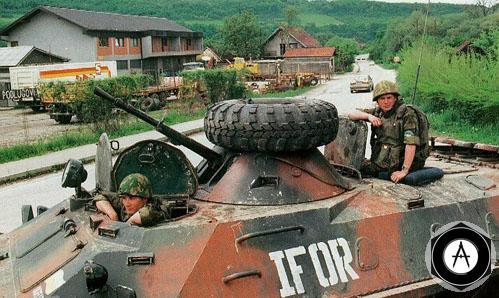 btr-70 силы IFOR в Югославии