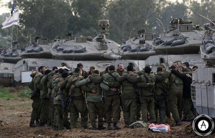 хоровод израильских танкистов в Газе