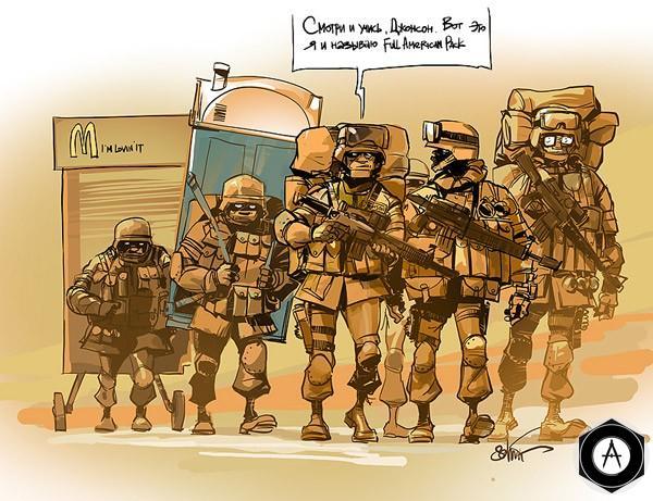 наступают в Ираке-полный пакет_ottovontodd
