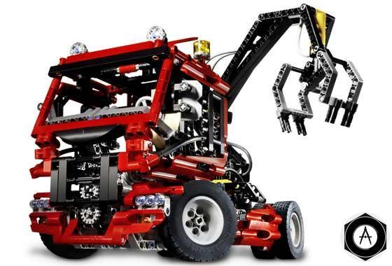 конструктор лего - Гpузовик
