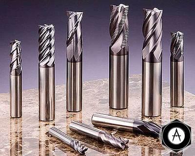 Фрезы концевые металлообрабатывающие
