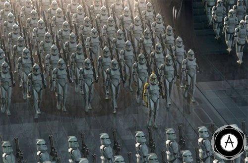 легионы клонов Звёздные войны