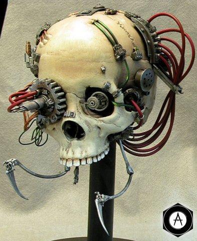 механическая голова