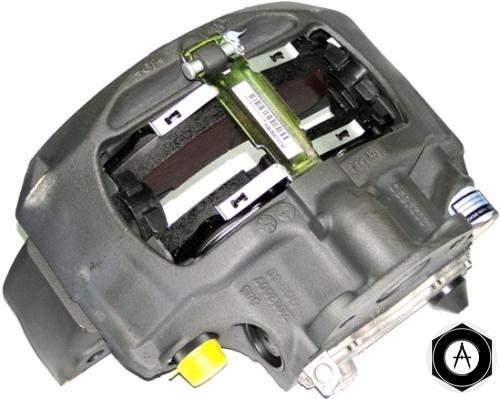 суппорт тормозной с колодками правый без кронштейна датчика АБС 0536270392