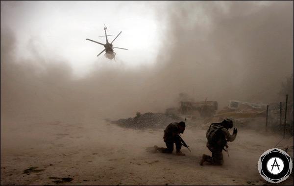 Американские солдаты в Афганистане_kandaghar