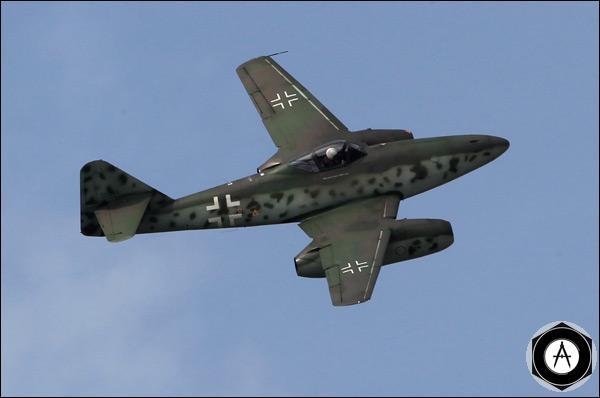Первый в мире серийный реактивный самолёт Messerschmitt Me262
