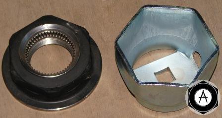 0536426050 Ключ корончатой гайки ступицы ECO Plus