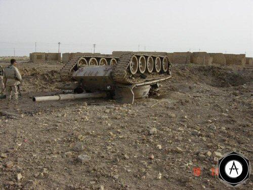 Т-69 авиабомба, Ирак