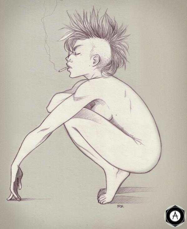 панк lily-fox