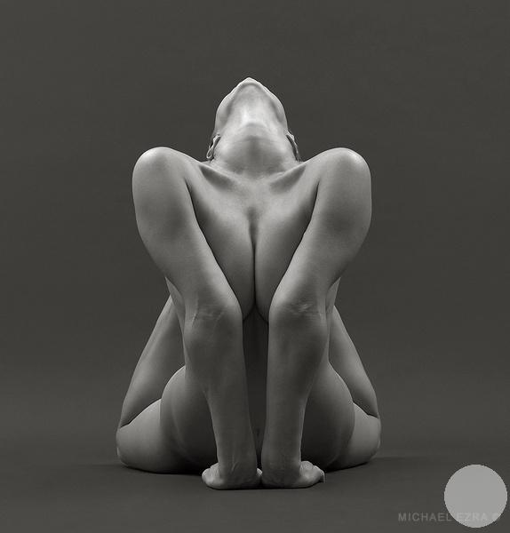 гимнастическая фотография клубок