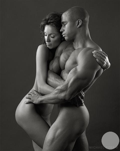 гимнастическая фотография с атлетом