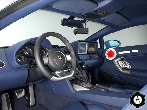 Lamborghini Gallardo LP560-4 Polizia inside