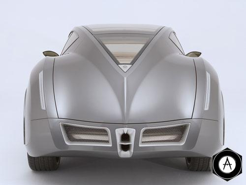 Руссо-Балт Impression rear
