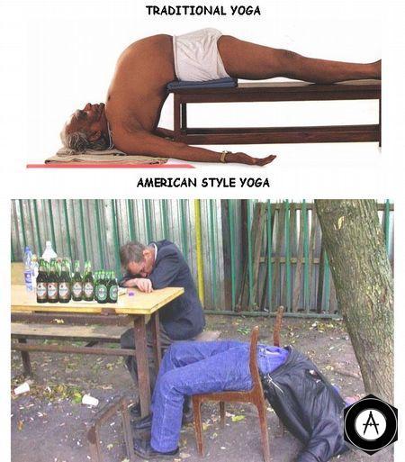 йога с вариантами