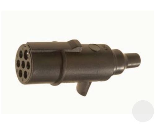 R01001 Вилка пластик основная 24V 7pins Type N ISO 1185