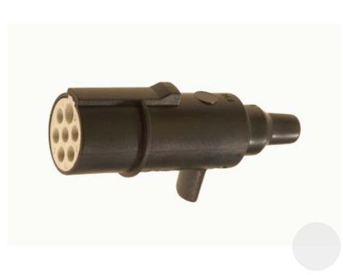 R01002 Вилка пластик вспомогат 24V 7pins Type S