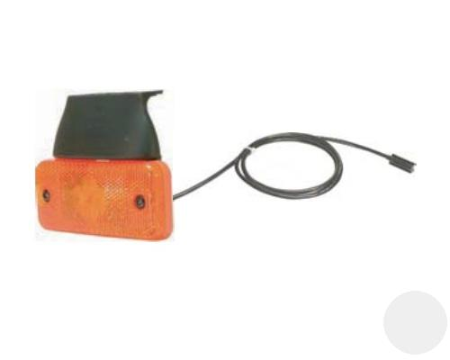 D10497 Фонарь LED 24V боковой габаритный , кабель 1500mm