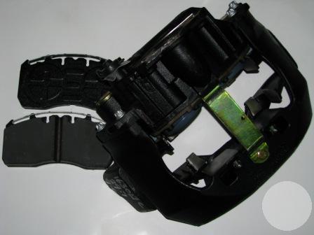 LRG764 Cуппорт левый со скобой ELSA225-2