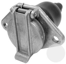 EN3817 Розетка метал основная N Tip 24V 7pins ISO 1185