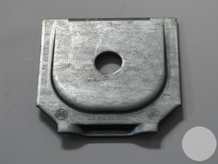 0316435030 Пластина кронштейна полурес.Lite D24