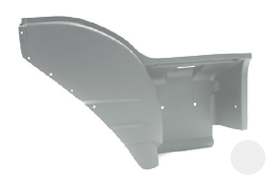 8144393 Подножка верхняя часть с крылом (правая часть) Iveco Eurostar
