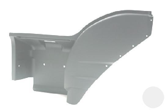 8144394 Подножка верхняя часть с крылом (левая сторона) Iveco Eurostar