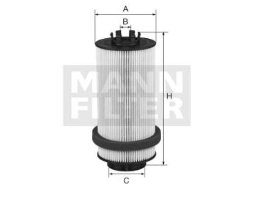 PU9992x Фильтр топливный