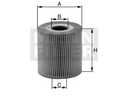HU1270x Фильтр масляный