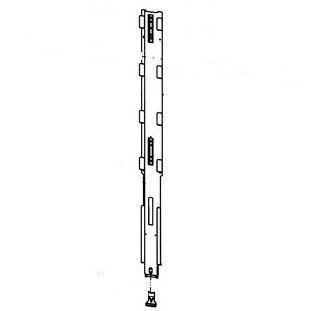 234243 Стойка боковая складывающиеся h 2470