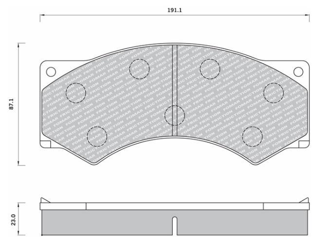 29017 Кмт колодок дискового тормоза