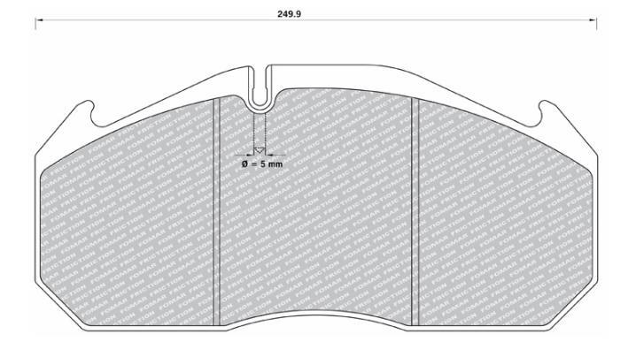 29053 Кмт колодок дискового тормоза