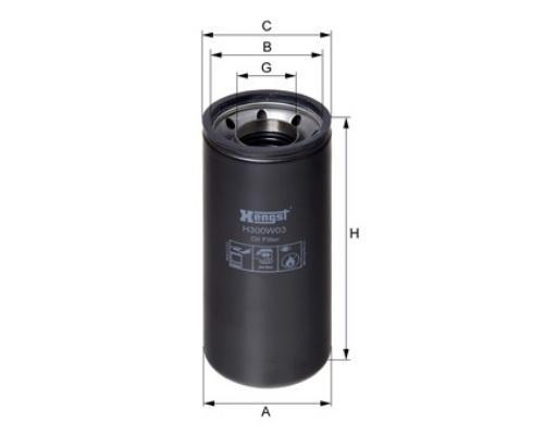 H300W03 Фильтр масляный