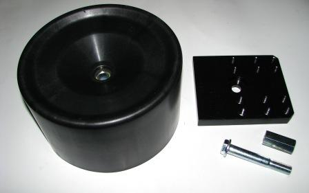 602004SS Стакан пластиковый 143mm с плитой к 4881NP02