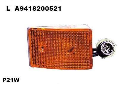 4401405LUE Повторитель поворота жёлтый MB ACTROS II