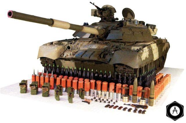 боекомплект Т-80