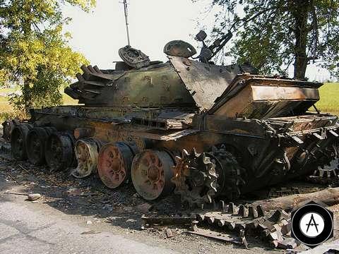 Вот как можно раскурочить танк Т-72