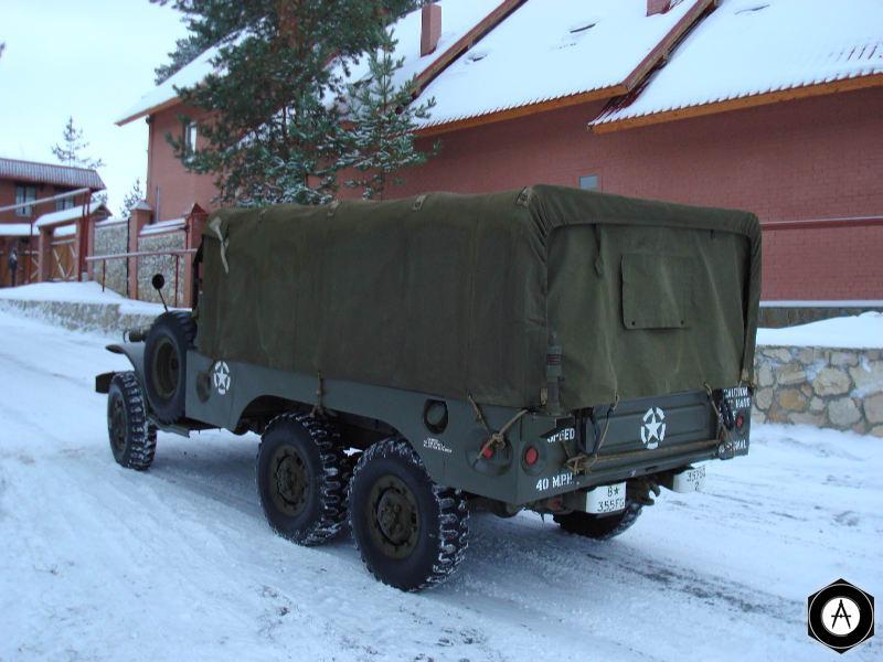 DODGE WS 63 rear
