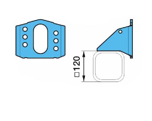 0318235840 Кронштейн энергоаккумулятора SN4218