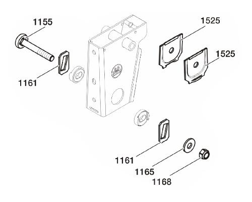 0585700280 Рмк полурессоры BPW Lite М24,2x60x72