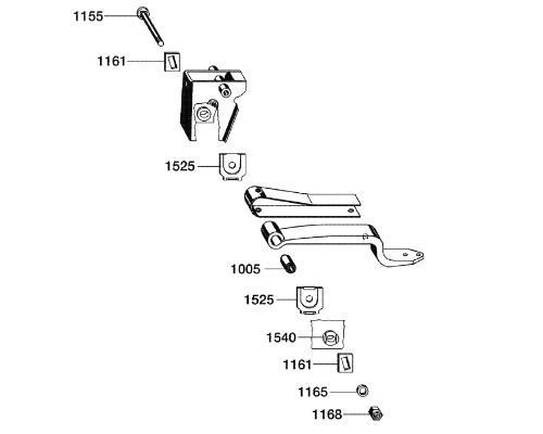 0980107380 Рмк крепления полурессоры BPW Lite 24mm