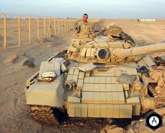 Иракский Т-72, 2003 г