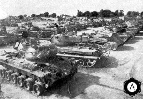 американские М48 и М46