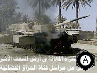 В Багдаде подорван танк армии США