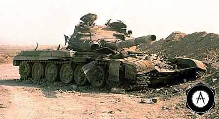 Т-72 В ИРАНО-ИРАКСКОЙ ВОЙНЕ